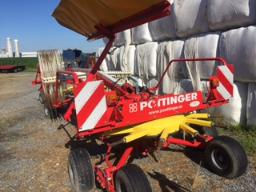 pottinger-top-611a-hay-rake-24-ft-tandem-as-new