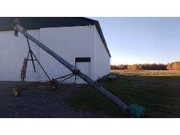 grain-auger-8in-x30ft-on-wheels-electric-3hp-motor