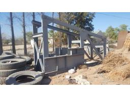 lot-scrap-metal-conveyor-structures-to-be-sold-per-ton-est-100ton-located-at-vredendal-