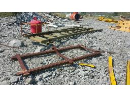lot-assorted-rails-rail-switches-switch-controls-step-guards-located-at-twickenham-mine-hackney-shaft-