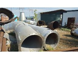 1x-lot-assorted-stainless-steel-ventilation-pipes-stairs-rustenburg-