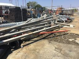 1x-lot-steel-i-beam-structures-excluding-any-pipes-containing-material-rustenburg-