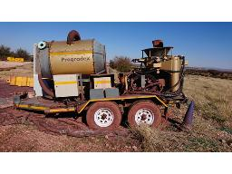 progradex-drill-sampling-system-on-d-axle-trailer-in-working-condition-located-at-kolomela-