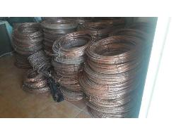 to-be-sold-per-ton-lot-assorted-processed-scrap-copper-cable-est-1-6-ton-located-at-amandelbult-