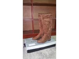 sissyboy-brown-suede-lady-boots-size-uk-8
