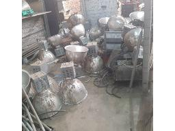 lot-assorted-flood-lights-with-cable-off-cuts-located-at-mafube-coal-mining