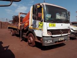 2007-mercedes-benz-atego-1217-single-axle-flat-deck-truck-with-pk-15500-crane-see-comments-below-located-at-beeshoek-mine