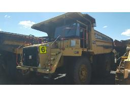 terex-tr60-dump-truck-non-runner-rust-marks-stonechips-all-over-body-no-batteries-no-drivers-seat-dashboard-stripped-electrical-wires-cut-both-doors-on-cab-missing-located-at-graspan