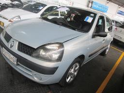 2003-renault-clio-1-2-hail-damage-238526km