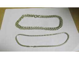 lot-silver-necklaces-snake-and-d-link-