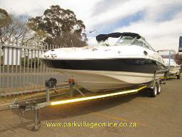no-keys-2012-sensation-2400-deck-motor-boat-trailer-no-readingkm